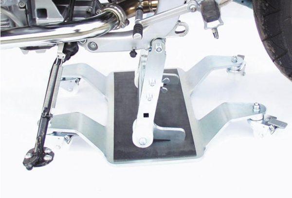 Béquille centrale à roulettes en XL -4783