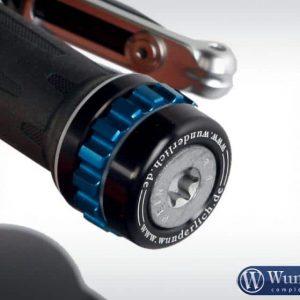 CruiseControl en acier noir avec molette bleue-0