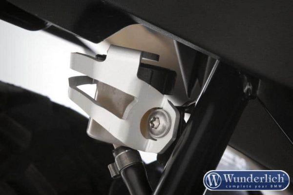 Protection de réservoir de frein arrière argent-0