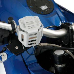 Protection de bocal de liquide de frein argent-0