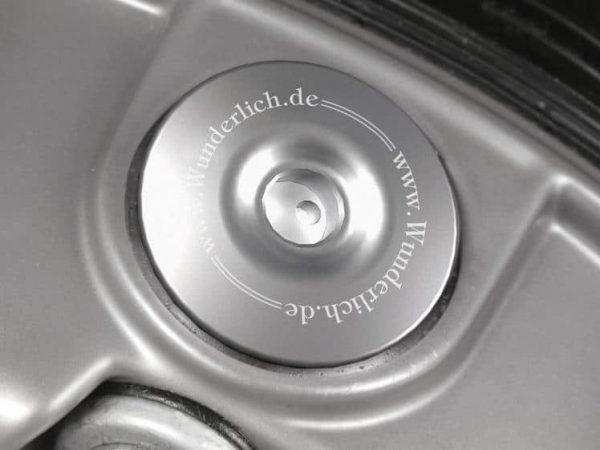 Bouchon de sécurité pour réservoir d'huile en argent-7241