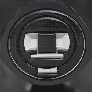 Protection de bouchon de réservoir d'essence carbone-4127