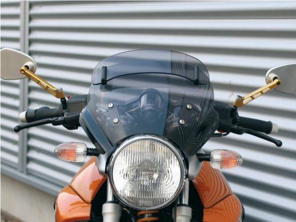 Bulle sport « Roadster-Vario » fumée-7676