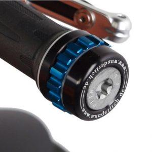 Regulateur de vitesse noir avec molette bleue-0