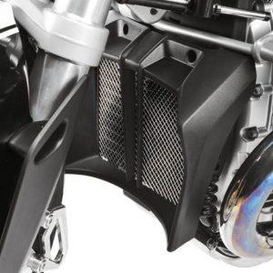 Grille de radiateur d'huile argent-8396