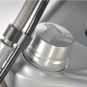 Chapeau en aluminium pour Telelever titane-4084