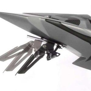 Support de plaque Vario noir-6720