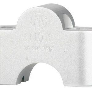 Réhausses de guidon argent 25 mm-0
