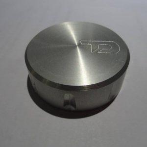 Bouchon de réservoir de liquide d'embrayage argent TD-0
