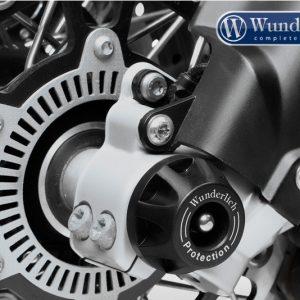 Protection d'axe de roue avant noir-8740