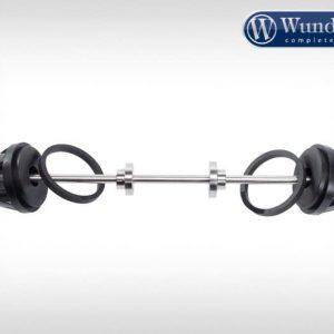 Protection d'axe de roue avant noir-8739