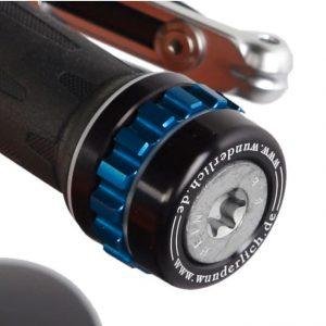 Cuise Control noir avec molette bleue-0