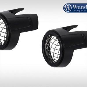 Grille de protection noire pour projecteurs additionnelles BMW-0