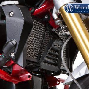 Protection de radiateur noire-11031