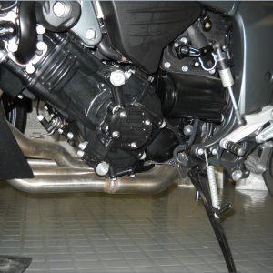 Protection de vilebrequin noire coté gauche TD-11091