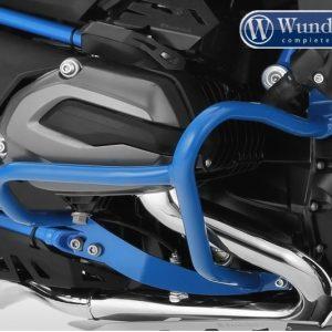 Pare cylindre tubulaire bleu-0