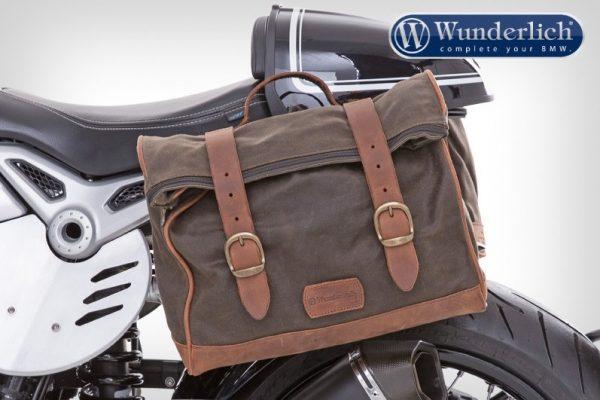 Sacoche latérale gauche brun Vintage-0