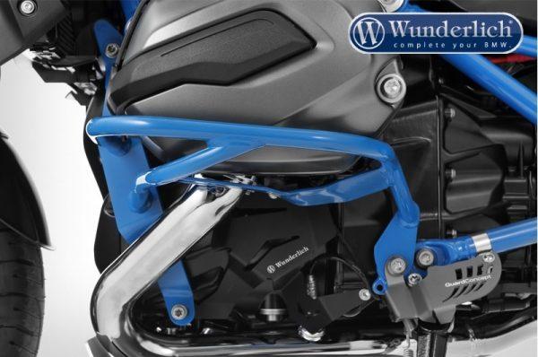 """Pare cylindre tubulaire """"Sport"""" bleu-14109"""